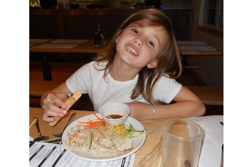 Eating Ramen at Wagamama in London
