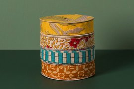 Fair Trade Bangladesh Recycled Sari Ribbon