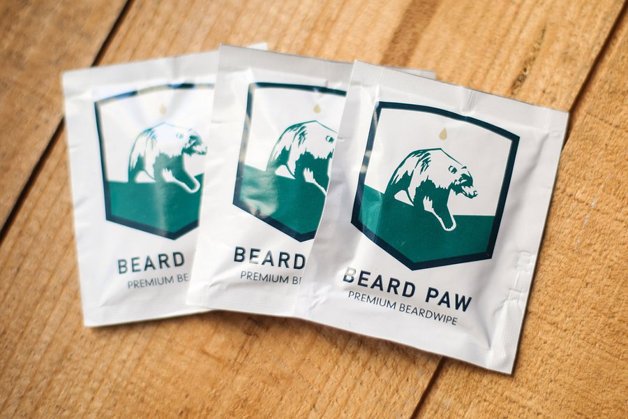 Beard Paw Wipes