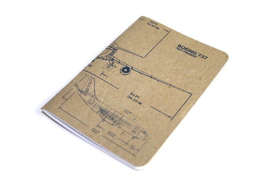 Boeing 737 Notebook