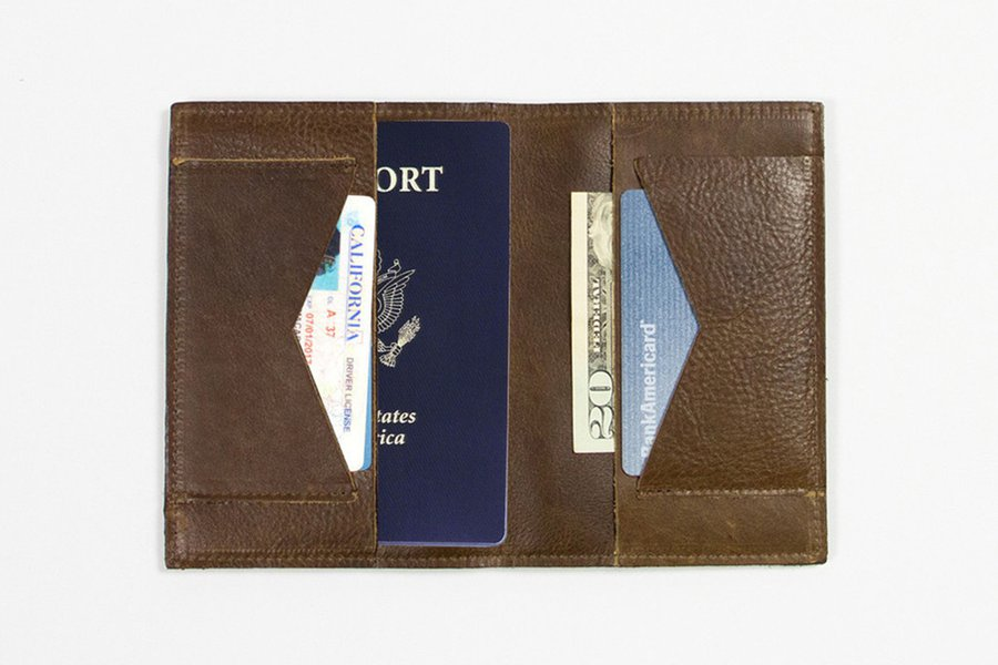This is Ground Passport Wallet