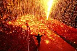Fireworks in Thailand