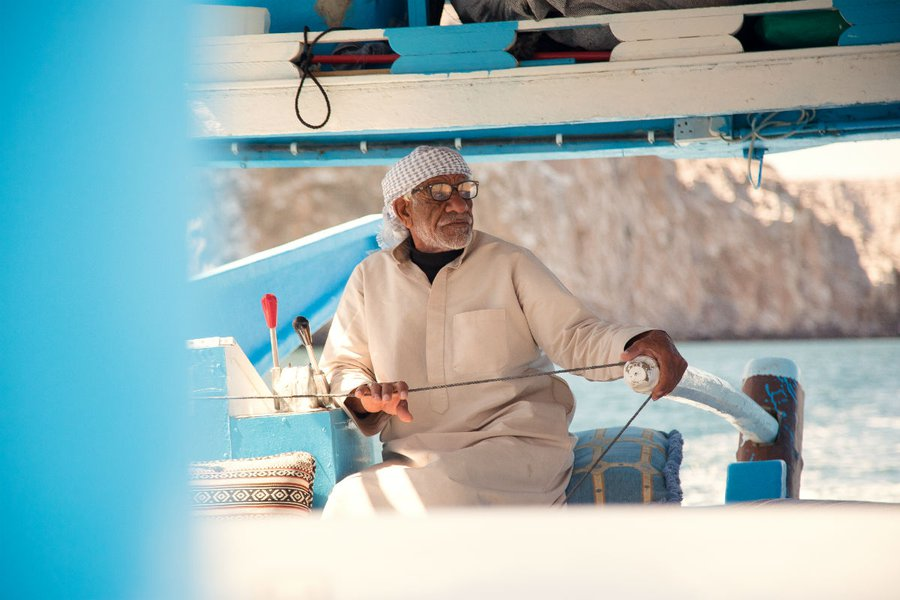 "Musandam, the ""Norway"" of Oman."