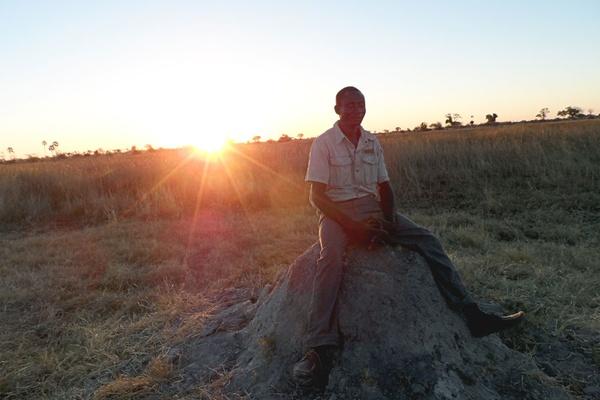 Safari guide, Okavango Delta Botswana.