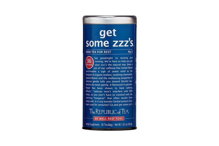 The Republic of Tea Get Some Zzz's Tea