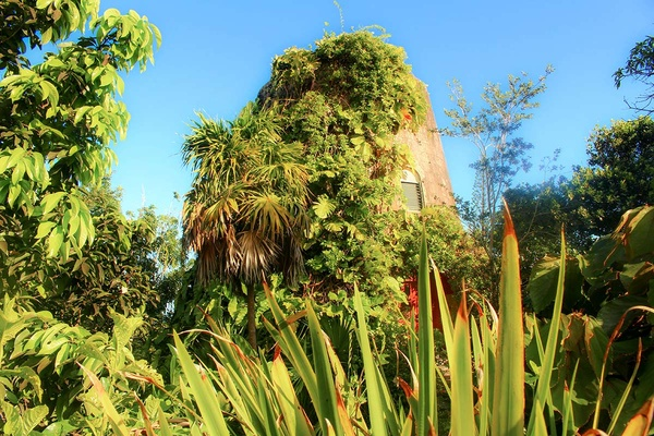 Golden Rock Inn Nevis Sugar Mill Suite