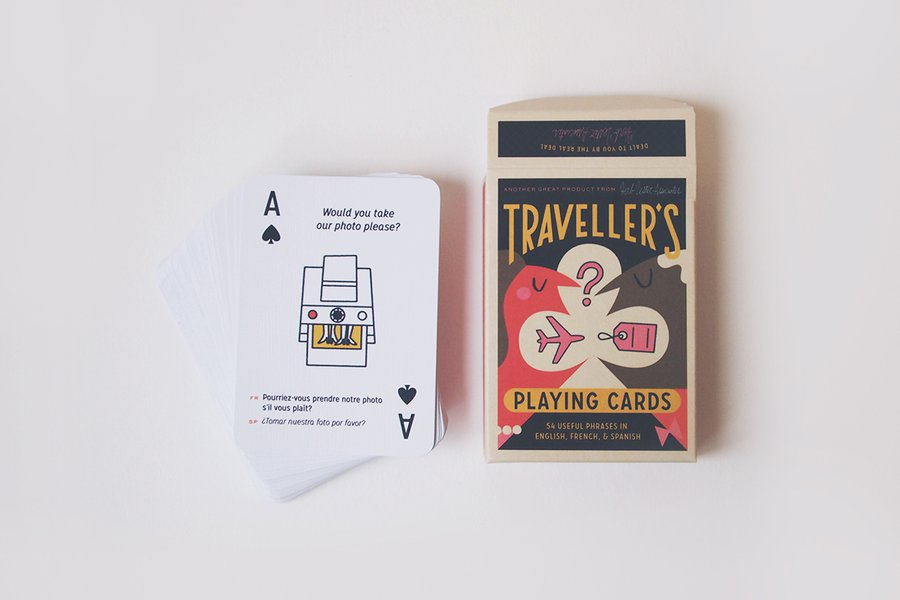Herb Lester Associates Traveller's Playing Cards