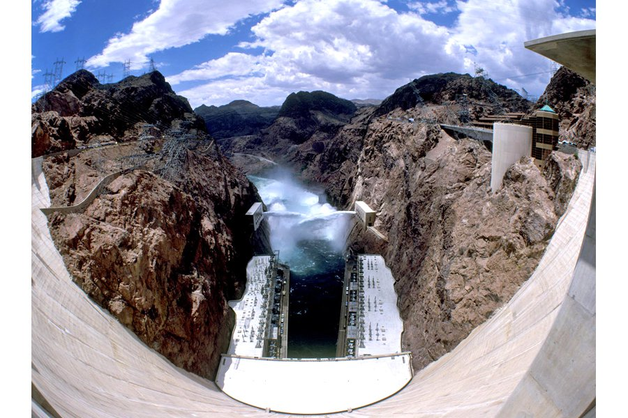 "A view of the Hoover Dam. Photo: Courtesy of <a title=""U.S. Bureau of Reclamation"" href=""http://www.usbr.gov/lc/hooverdam/gallery/damviews.html"" target=""_blank"">U.S. Bureau of Reclamation</a>"