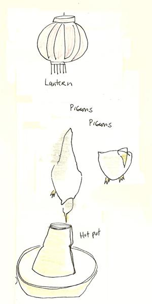 Hot Pot and Birds