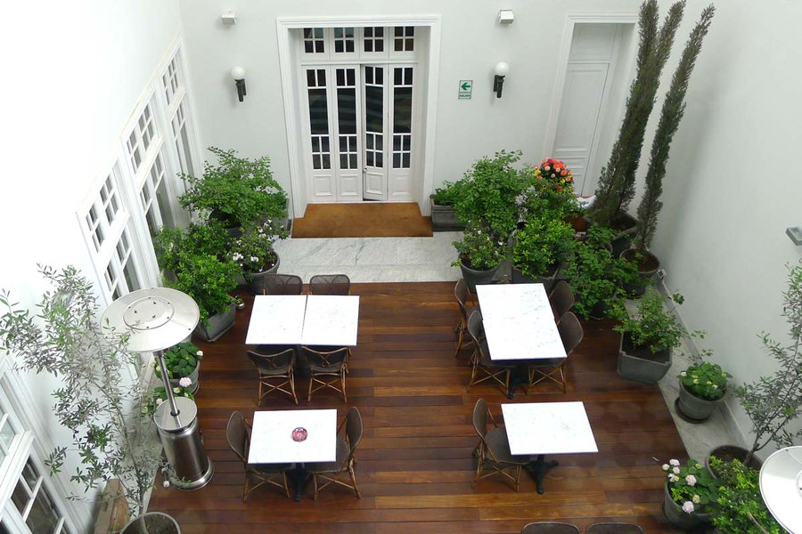 El Patio Seen from Above