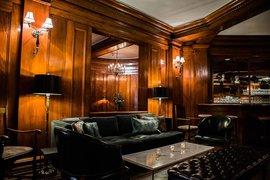 Hotel Sorrento Fireside Room in Seattle.