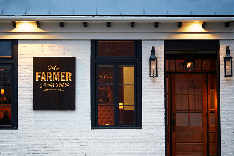 WM Farmer and Sons in Hudson