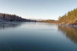 Lake Blanktjärn Sweden