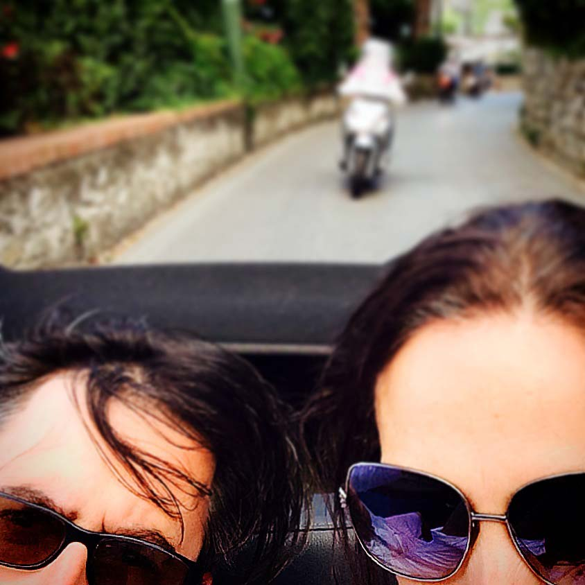 Taxi A Pavia: My Glamorous Capri Lunch Was A Great Idea. In Theory