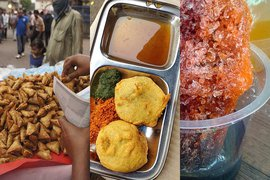Some of the best foods around India.