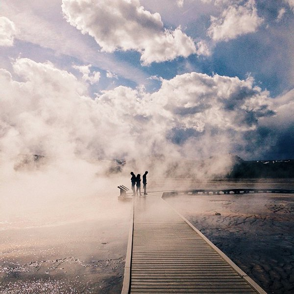 Steam on the Water