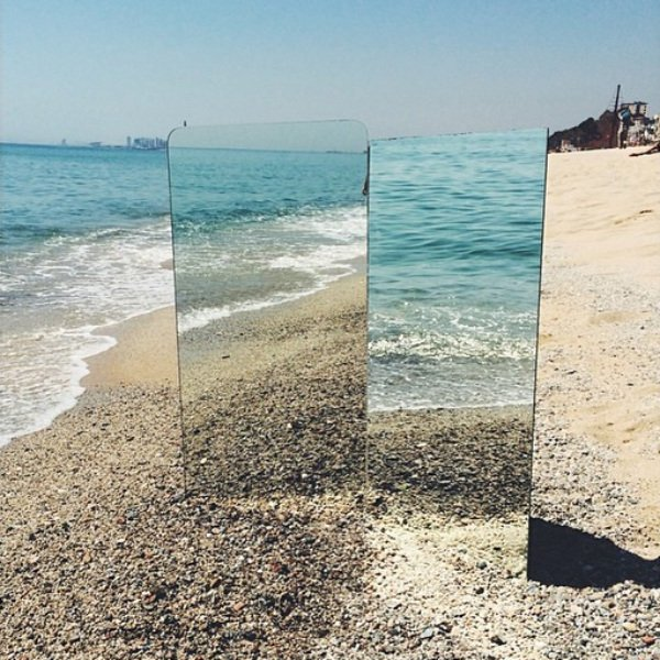 Mirror, Mirror, on the Shore