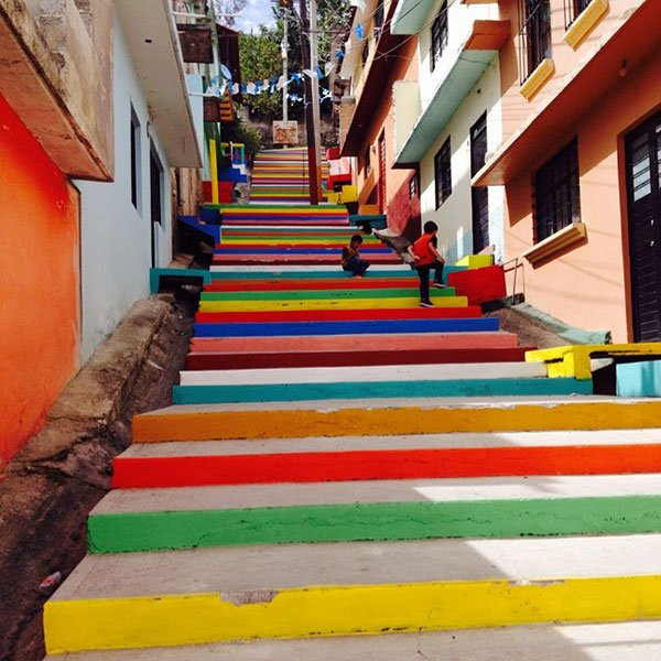 The Technicolor Stairs
