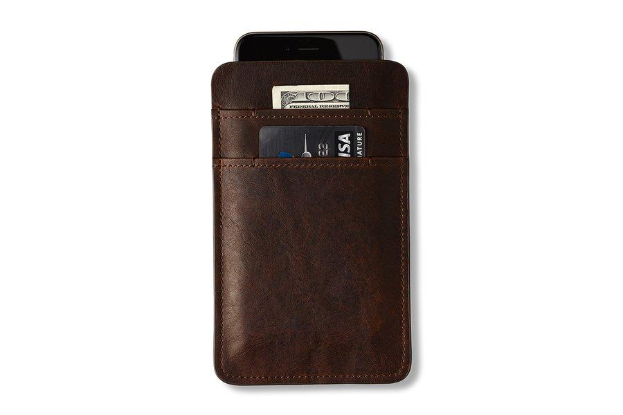 Italian Leather Slip Wallet