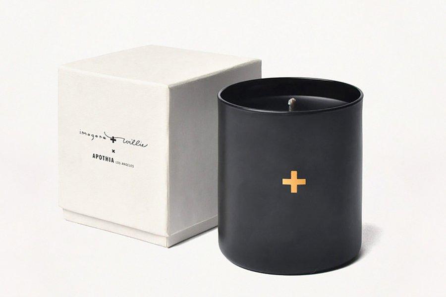 I+W x Apothia Candle