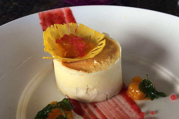 Dessert at Jade Mountain
