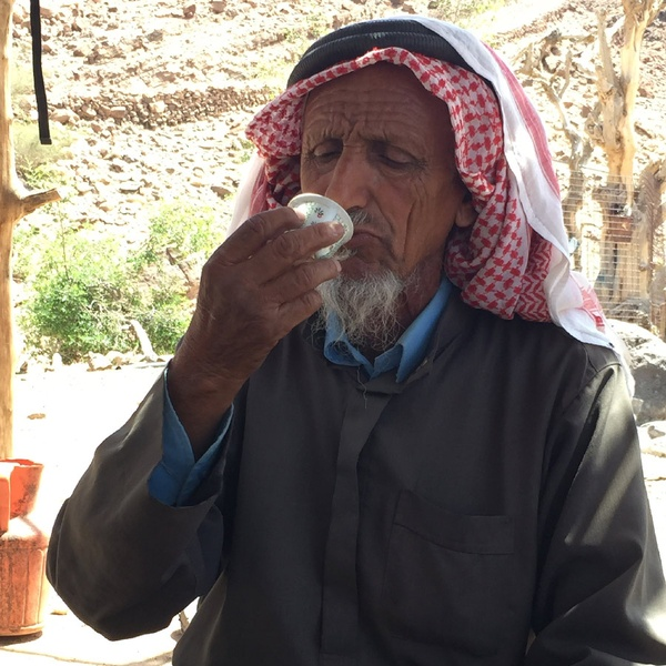 bedouin coffee man