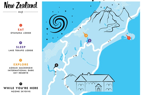 Kate Spade City Guide Space New Zealand