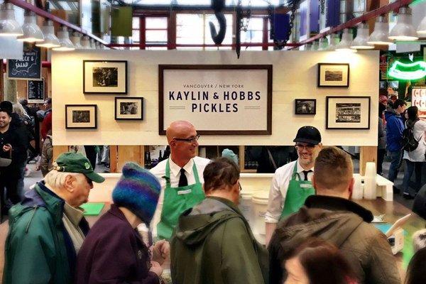 Kaylin & Hobbs Pickles Vancouver