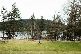 Kevin Rutherford of Nuun running