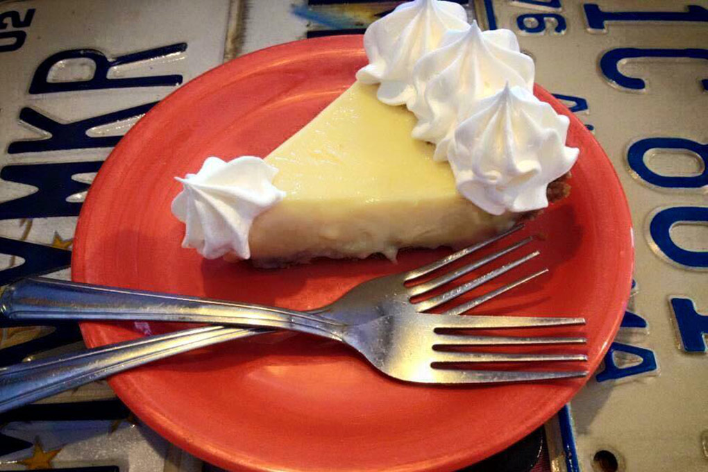 Key Lime Pie at Mrs. Mac's Kitchen in Key Largo