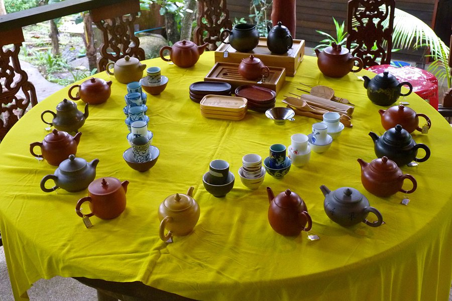 Tea Ceremony at the Spa