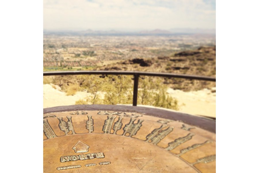 "Pointing North in Phoenix, Arizona. Photo by <a title=""fourthirtyam"" href=""http://instagram.com/fourthirtyam"" target=""_blank"">@fourthirtyam</a>"