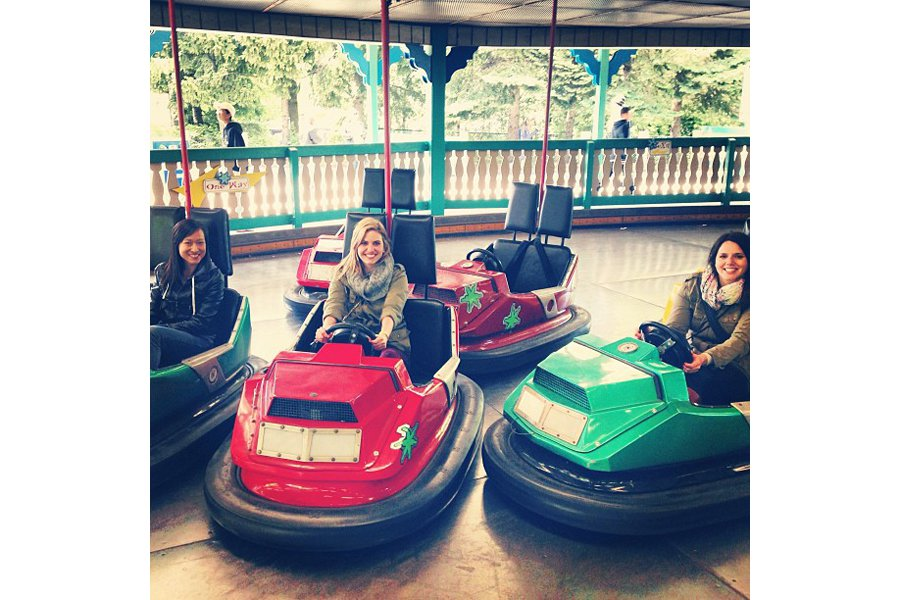 "Bump and grind at Canada's Wonderland. Photo by <a title=""jennystencel"" href=""http://instagram.com/jennystencel"" target=""_blank"">@jennystencel</a>"