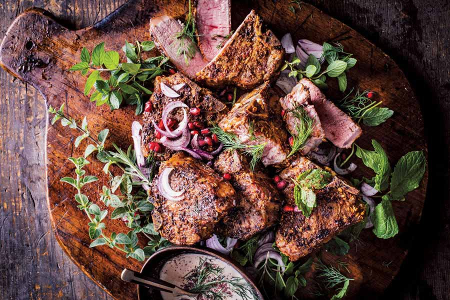 Turkish lamb chops recipe