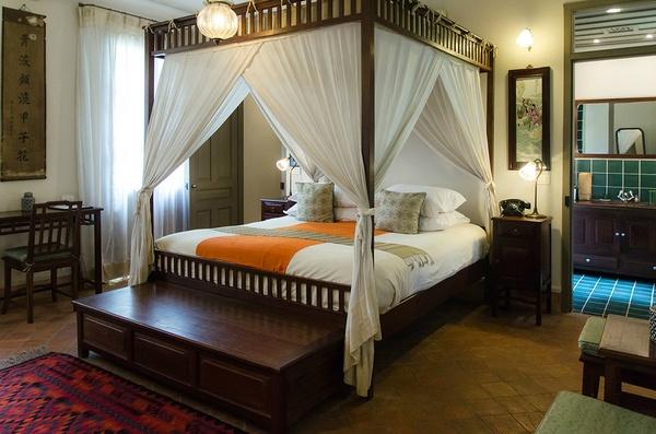 Satri House room, Luang Prabang, Laos