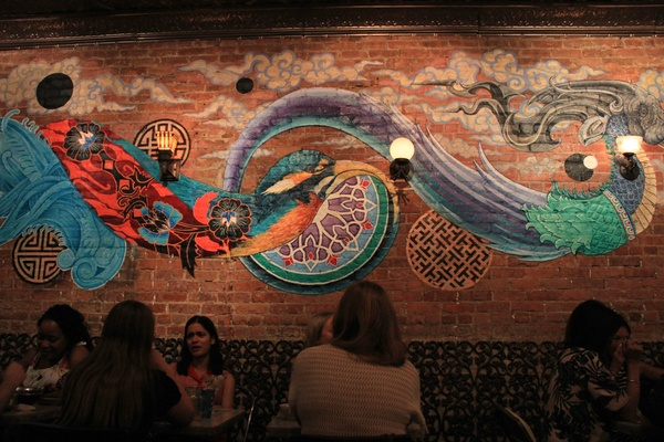 Finding flavors of home in the big apple fathom new york for Mural hidupan laut