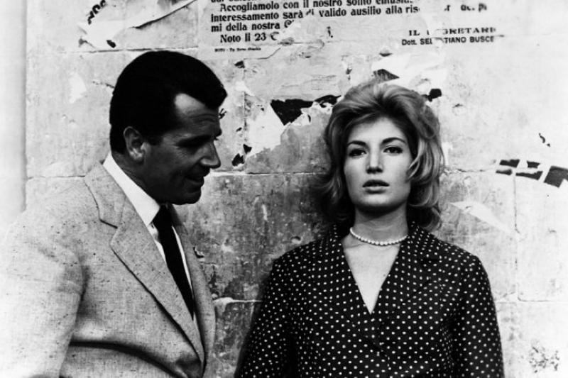 """<p>Gabriele Ferzetti and Monica Vitti in """"L'Avventura."""" Photo: <a title=""""IMDB"""" href=""""http://www.imdb.com/media/rm2540155392/tt0053619"""" target=""""_blank"""">IMDB</a></p>"""