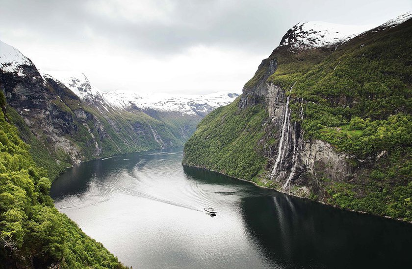 Hiking in Norway