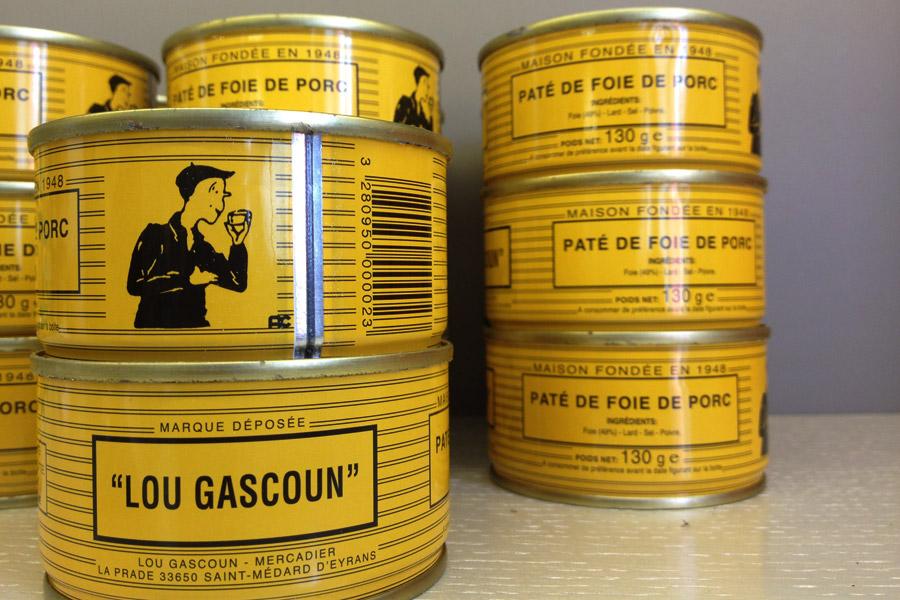 Lillet foie gras cans