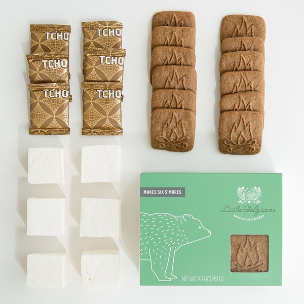 Little Belgians speculoos s'mores kit