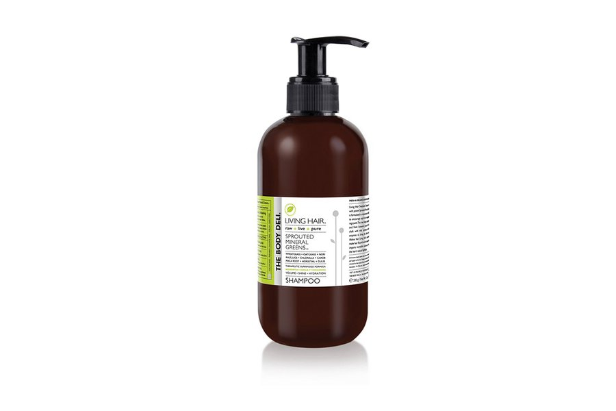 Living Hair Sprouted Mineral Greens Shampoo