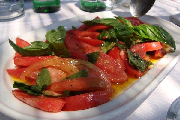 Insalata di pomodori.