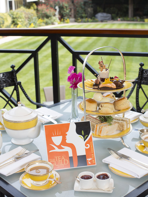 Goring Hotel tea
