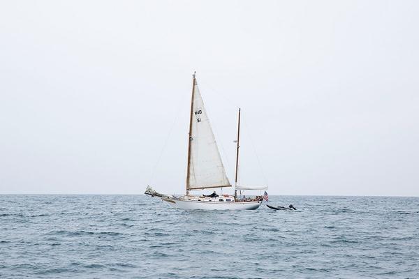 Nicole Franzen Boat in California