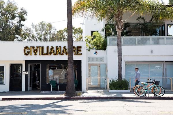 Nicole Franzen Street in Los Angeles