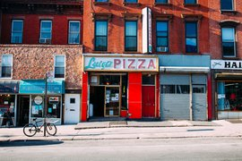 Luigi's Pizza in South Slope, Brooklyn