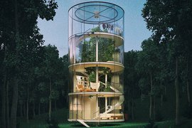 Tree House, Kazakhstan