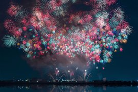 Japanese fireworks.