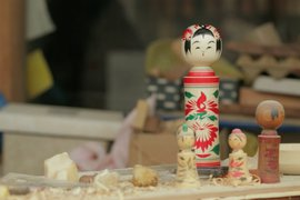 Traditional Japanese Kokeshi Doll
