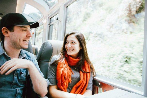 Machu Picchu Inca Rail train.